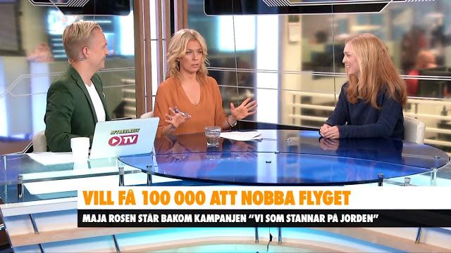 Maja Rosén är med i Aftonbladet Morgon