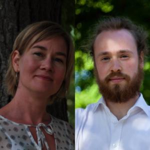 Caroline Axelsson och Max Troendlé